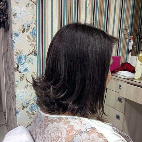 cabelo com ponta pra fora