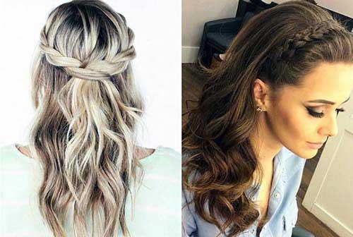 penteado para formatura lindo