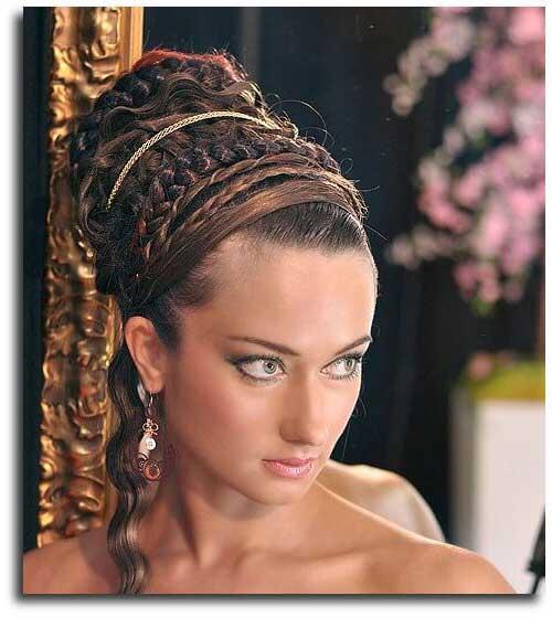 penteado grego tipo coque