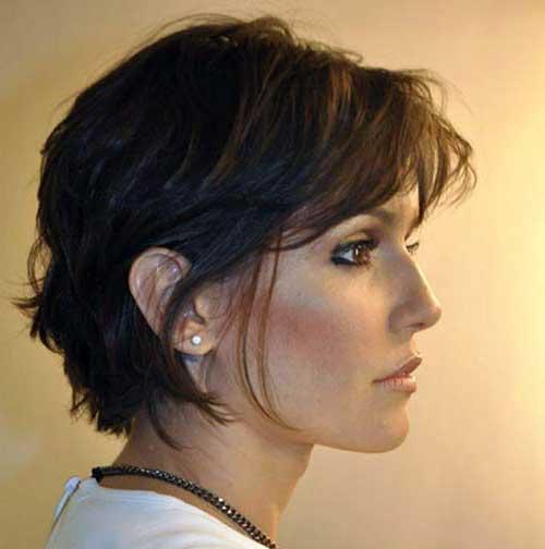 cabelo curtinho de atriz global