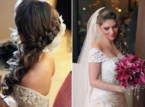 topete e cabelo de lado para casamento bonito