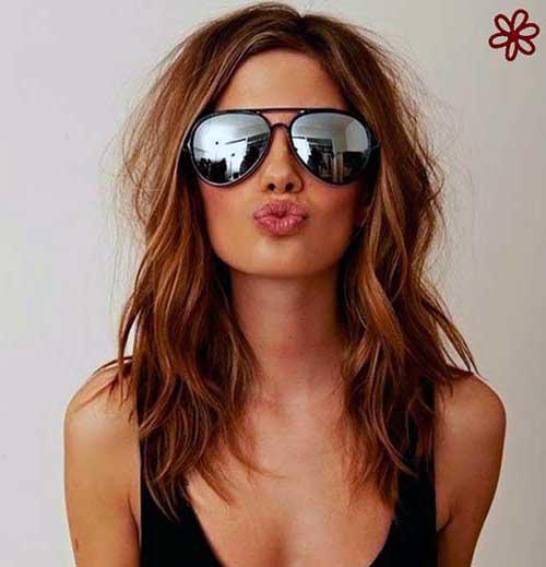 cabelos long bob da moda
