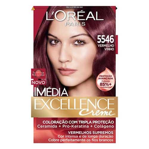 tintura de cabelo loreal 5546