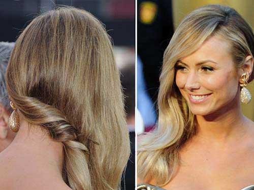penteado com textura lindo