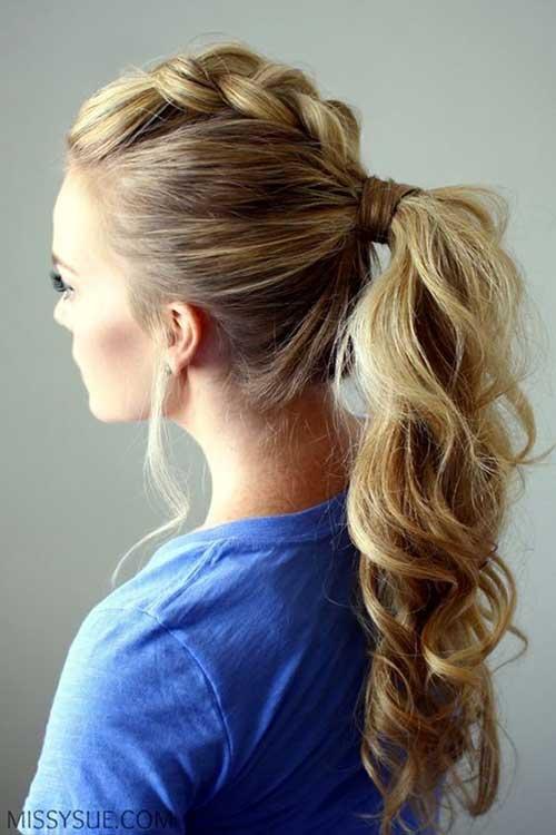 cabelos trançados com moicano