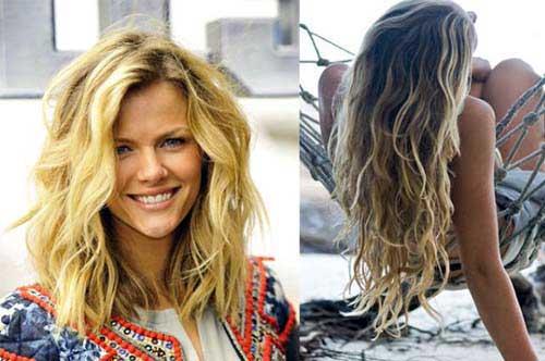 cabelos secos ao vento ficam com efeito praiano