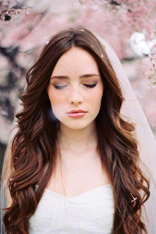 cabelo pra noiva bonita
