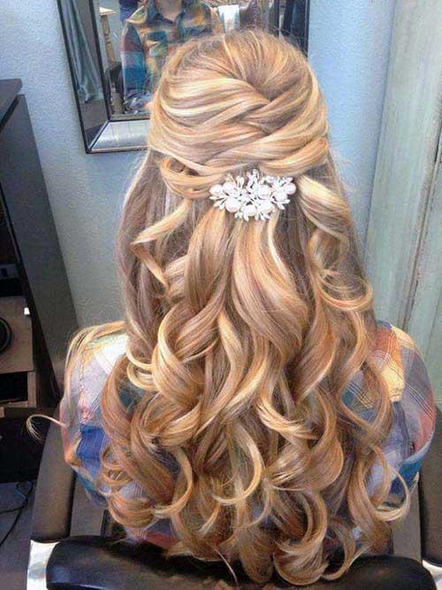 cabelo para noiva de cabelo loiro