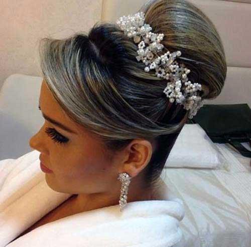 penteado de gala pra casar