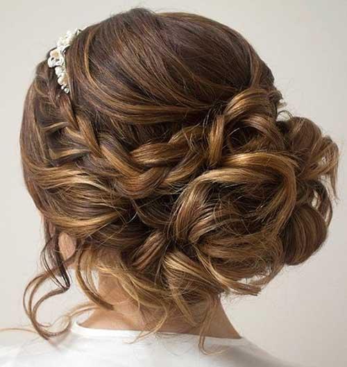 cabelos bonitos de noivas
