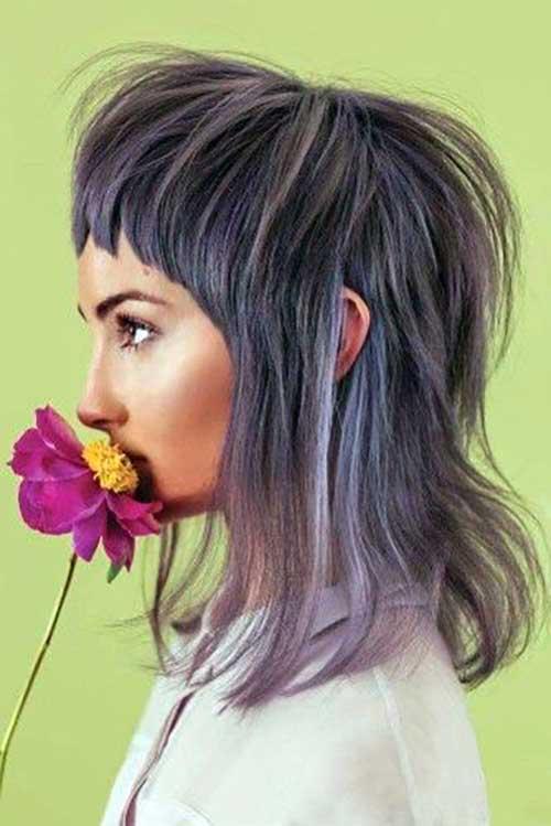 cabelo mullet para mulheres