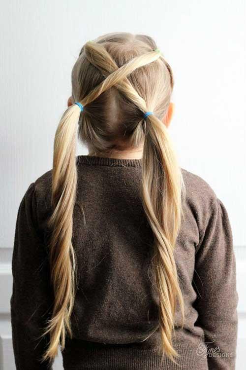 preso e invertido - opção divertida de penteado