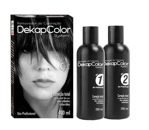 produtos para tirar a cor do cabelo