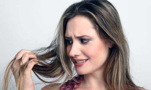 cabelo desidratado