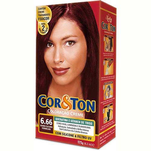 tinta para pintar de vermelho cabelo loiro