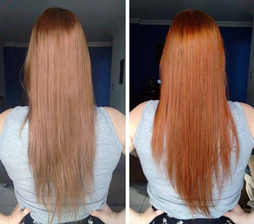 tinta ruiva para cabelos