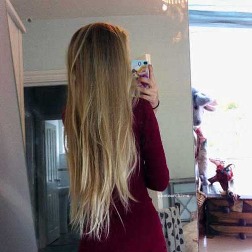 cabelo longo, liso e loiro do tumblr