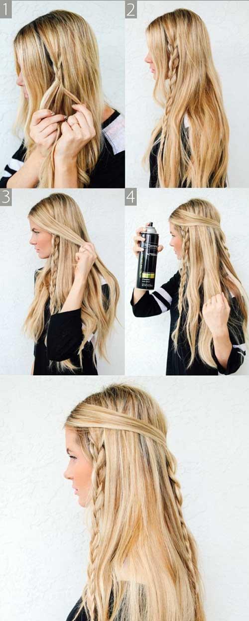 tutorial passo a passo pra trança hippie em cabelo grande