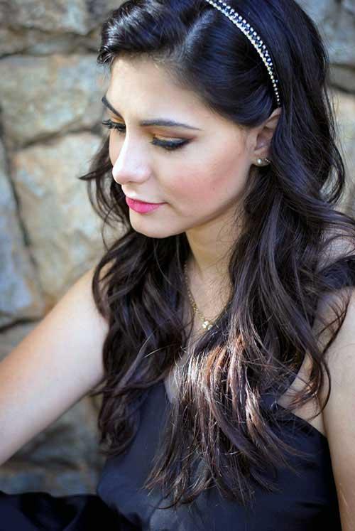 cabelos acessorizados