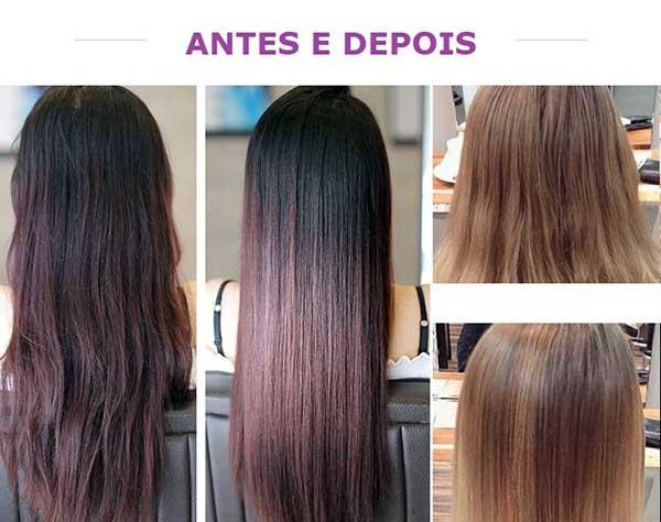 antes e depois de resolver cabelos finos, fracos e ralos