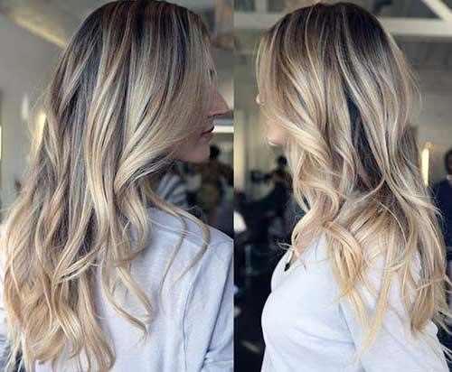 luzes de bebe em cabelo loiro