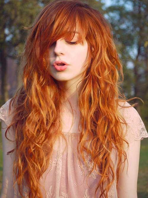 cabelos ruivos lindos