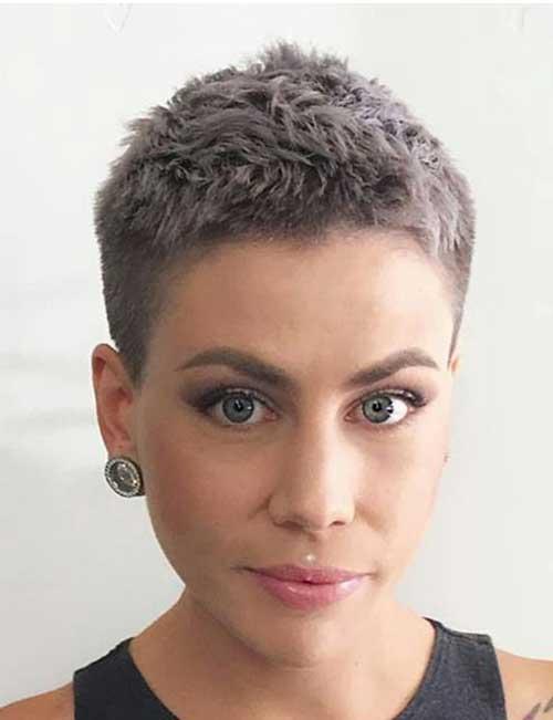 corte feminino de cabelo curto