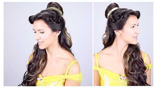 penteado inspirado na bela