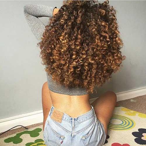 cabelo cacheado lindo