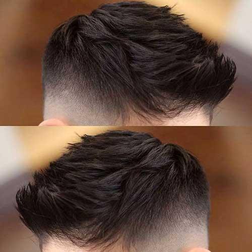 cabelo com topetes