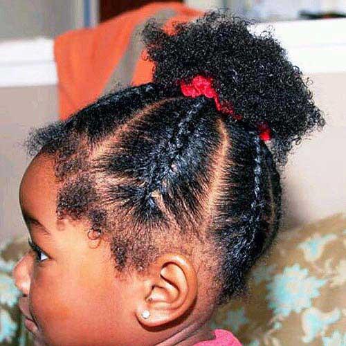 7 Penteados Para Cabelo Cacheado Infantil Tutoriais Fáceis