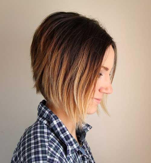 cabelo bem curto com ombre hair loiro
