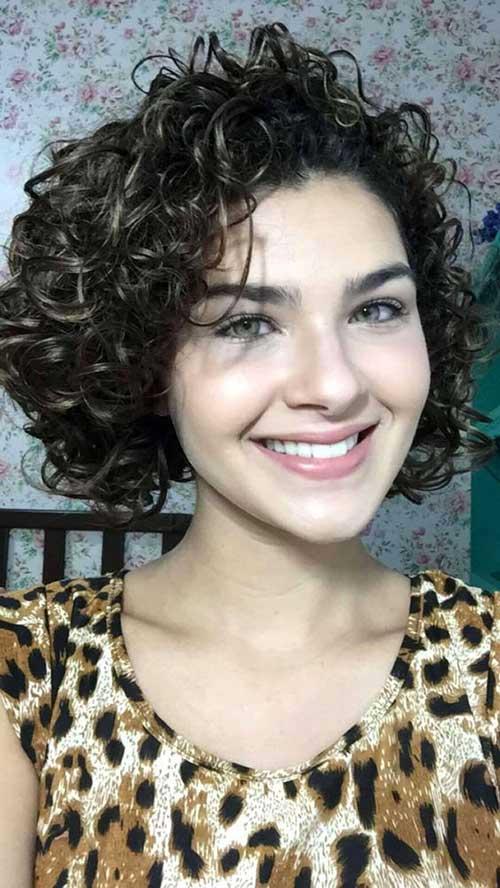 cabelo de morena definido