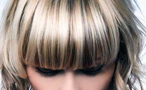 mechas invertidas em cabelo loiro