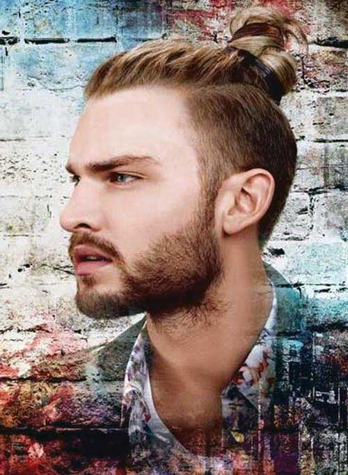 cabelo longo da moda para machos