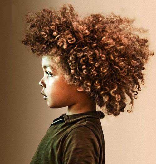 cabelo para criança do sexo masculino