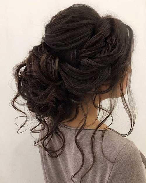 penteado greco-romando com moicano
