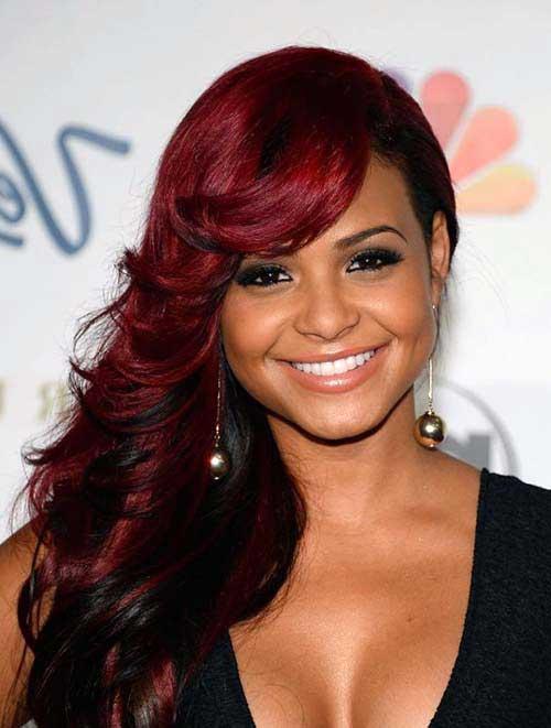 resultado em morenas bonitas com cabelo vermelho