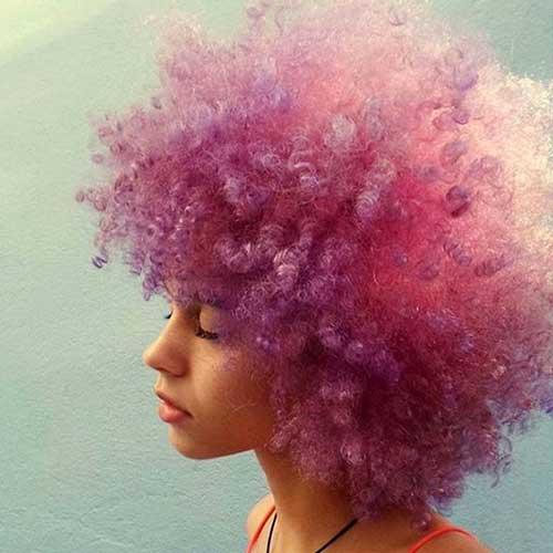 cabelo vermelho pink