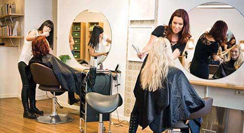 cabelos platinados por trabalhador qualificado