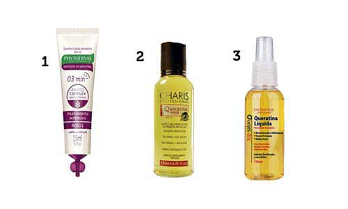 queratina liquida que ajuda a tratar cabelo elastico