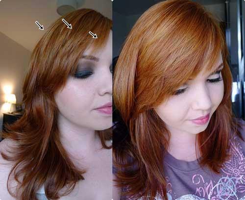 cabelos ruivos tratados
