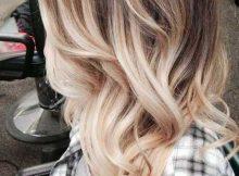 imagens e fotos de cabelos loiros com mechas
