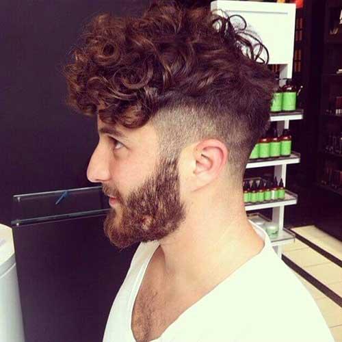 como fazer cabelo raspado do lado masculino
