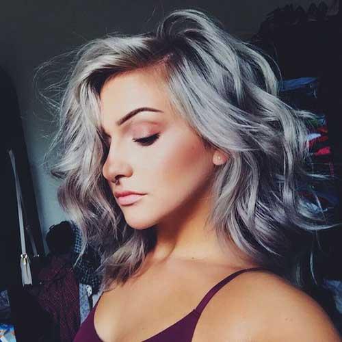 cabelos acinzentados