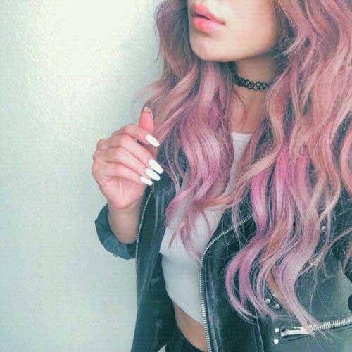 cabelo colorido cuidado