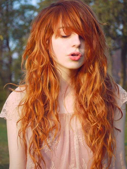 cabelos ruivos belos