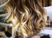 cabelos lisos loiros com ondas