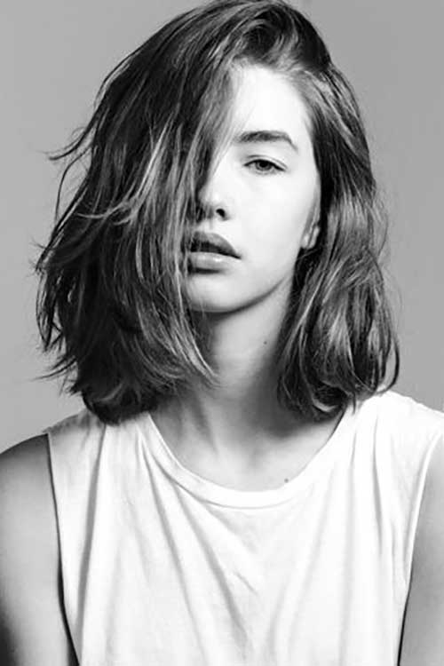 penteado medio