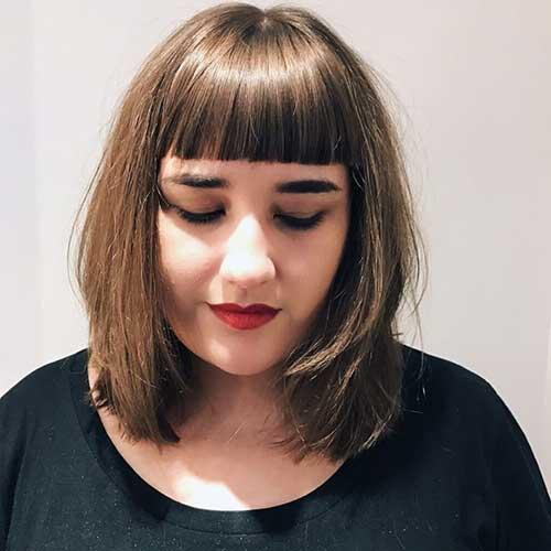 estilo de cabelo para gordinhas